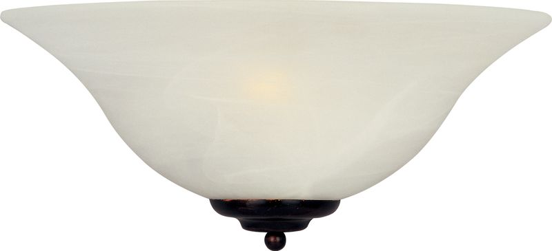 "Essentials - 2058x 13"" 1-Light Wall Sconce - Oil Rubbed Bronze"